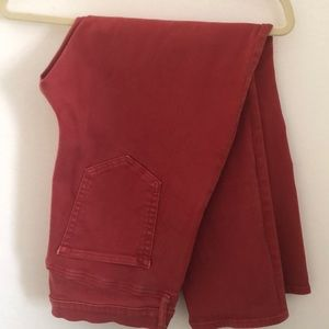GAP Jeans - GAP Red Slim Straight Jeans Size 34/18